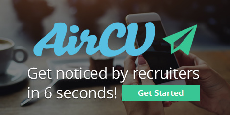 Click here to create your AirCV