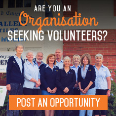 Are you a Voluntary Organisation seeking a volunteer?